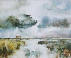 """""""Landschap op Texel"""" by Ton Albers -  Landschappen galerij"""