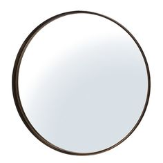 Featuring clean lines and a sleek design, this aged bronze-finished mirror creates a focal point in your hallway or living room.