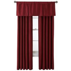 Royal Velvet® Supreme Pinch-Pleat/Back-Tab Window Treatments  found at @JCPenney