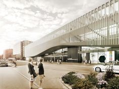 The proposal for the new Helsinki Central Library aims to provide a meeting…