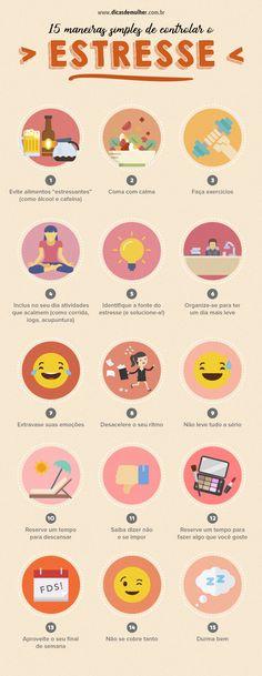 15 dicas simples para evitar o estresse no dia a dia