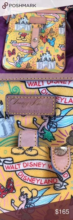 Disneyland Dooney & Bourke crossbody Adorable Disneyland crossbody bag.  Excellent condition/ like new Dooney & Bourke Bags Crossbody Bags