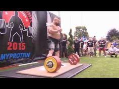 Eddie Hall New Deadlift World Record 463KG (better quality)