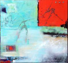 Acrylic paint on canvas by Elisabeth Takvam
