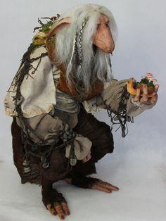 OOAK Nightswood Art Dolls: Mirru the Ancient Troll