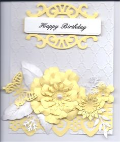 Just made another birthday card by Cara Beck