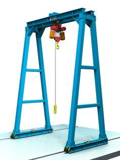 Garage Tools, Garage Workshop, Crane Lift, Diy Go Kart, Crane Design, Sheet Metal Fabrication, Gantry Crane, Wrought Iron Doors, Metal Working Tools