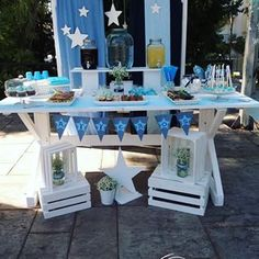 Cosmos Events (@cosmosevents.gr) • Φωτογραφίες και βίντεο στο Instagram Nautical Centerpiece, Centerpieces, Table Decorations, Baptism Favors, Furniture, Home Decor, Bloom, Candy, News