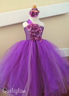 Flower Girl Dress Purple flower girl dress Purple by Gurliglam, $75.00