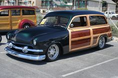 Vintage Cars, Antique Cars, Station Wagon Cars, Muscle Cars, Woody Wagon, Classic Car Restoration, Classy Cars, Ford Classic Cars, Old Trucks