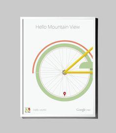CJWHO ™ (Google Maps - Hello World   Matt Delbridge Print...)