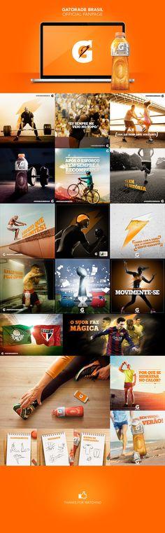 Gatorade Brasil Official Fanpage on Behance