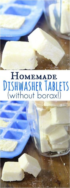 After trying a TON of DIY Dishwasher Tab recipes, we found one that works! These homemade dishwasher tablets are incredibly easy to make, and you don't need to have any borax!