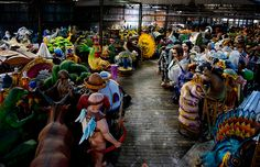 Photographer Rush Jagoe's look at the inner workings of a Carnival season tradition. New Orleans History, House Party, Mardi Gras, Behind The Scenes, Places To Go, Carnival, Lion Sculpture, World, Louisiana