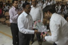 Received a warm welcome at DBIT, Dehradun