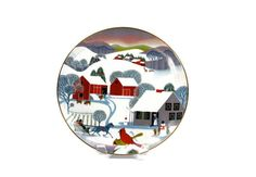 Art Plate by Betsey Bates / Christmas Morning / World Book Annual Christmas Plate / Signed / c1980  - pinned by pin4etsy.com