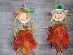 Autumn Activities, Craft Activities For Kids, Preschool Crafts, Crafts For Kids, Autumn Crafts, Autumn Art, Nature Crafts, Easy Arts And Crafts, Diy And Crafts