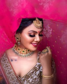 Awesome Bridal Makeover!  Makeup @aanalsavaliya #makeup #bride #wedding #weddingphotography #jewellery #photography #bridemakeup Indian Engagement Photos, Indian Wedding Photos, Big Fat Indian Wedding, Wedding Wire Website, Bridal Makeover, Indian Bridal Makeup, Seating Chart Wedding, Bridal Photography, Photography Poses