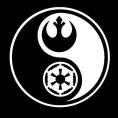 Star Wars: Yin Yang tshirt from smartassbartender