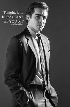 Lee Pace as Joe MacMillan - Halt and Catch Fire