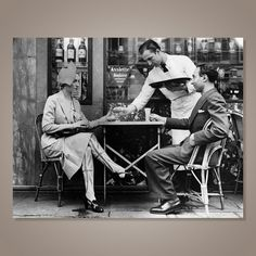 Paris cafes vintage - Google Search