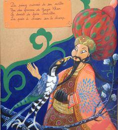 Le faucon de Gengis Khan