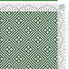 Hand Weaving Draft: Page 136, Figure 38, Donat, Franz Large Book of Textile Patterns, 7S, 7T - Handweaving.net Hand Weaving and Draft Archiv...