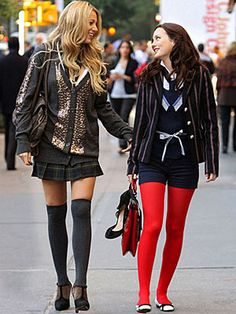 I remember going out and buying red tights immediately after seeing this. Still Love the boldness of the look.