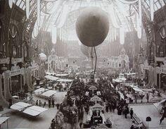 Salon de locomotion aerienne 1909 Grand Palais Paris