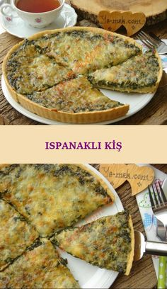 How to make quiche with spinach? You can easily make spinach quiche recipe . - How to make quiche with spinach? You can make spinach quiche recipe easily … – - Fun Easy Recipes, Easy Meals, Spinach Quiche Recipes, How To Make Spinach, Kebab Recipes, Indian Desserts, Snacks Für Party, Best Breakfast Recipes, Breakfast On The Go