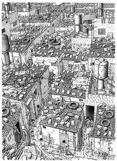 Palestine by Joe Sacco #comics #illustration