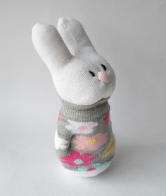sock bunny | Flickr - Photo Sharing!