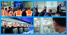 During a customer training at Haan, Germany,  customers learned about our state of the art filtration technology. They also visited the production site, peeking through the windows of our clean room where LifeTec liquid filters are manufactured.