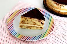 Kávový dort s vanilkovým krémem / Coffee cake with vanilla cream Vanilla Cream, Base Foods, Plant Based Recipes, Coffee Cake, Tiramisu, Vegan Recipes, Ethnic Recipes, Plant Based Meals, Tiramisu Cake