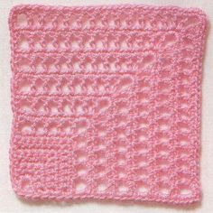 Mitered Crochet Square Pattern. More Great Patterns Like This
