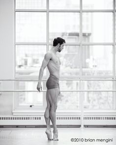 Never tease a male ballet dancer. With muscles like that, he could give you a serious beat down.