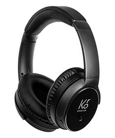 KRONIUM Active Noise Cancelling Headphones Wireless Bluetooth Headset Superior Deep Bass Foldble Over Ear Headphones with Mic for Travel Work TV PC Cellphone-with Audio Jack Noise Cancelling Headphones, Bluetooth Headphones, Best Headphones, Over Ear Headphones, Headphone With Mic, Speakers, Headset, Cell Phone Accessories, Usb