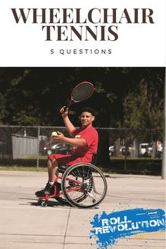 Interested in wheelchair tennis? Learn the top 5 questions asked about this sport here.