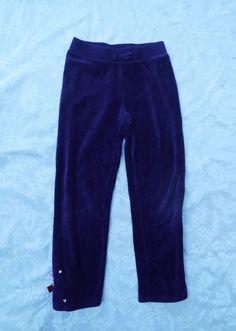 GYMBOREE VELOUR PANTS, Purple Solid Track Pants, Cotton Blend, Winter Penguin, 7 #Gymboree #AthleticSweatPants #Everyday
