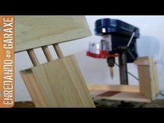 Hacer uniones con tubillones en el taladro de columna - YouTube