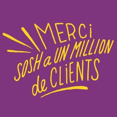 Merci ! #Sosh a 1 million de clients !