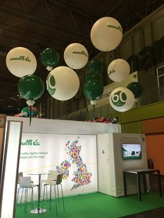 Air Products exhibition stand at the Spring Fair NEC 2018
