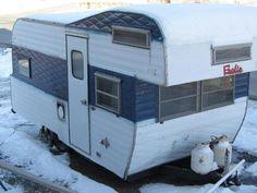 Vintage Frolic Travel Trailer In Rvs Amp Campers Ebay Motors Unfortunately No Bathroom Bid Now