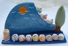 By Ceramic Art  Dalia Fisch Benari
