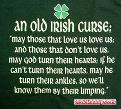 a wee Irish humor just in time fo rSt. Patty's day