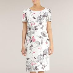 Soft Floral Shift Dress http://picvpic.com/women-dresses-cocktail-party-dresses/soft-floral-shift-dress#pink