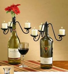Lorena Cavalcanti: Como aproveitar garrafas antigas na decoração