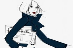 New Yorker by Garance Dore.