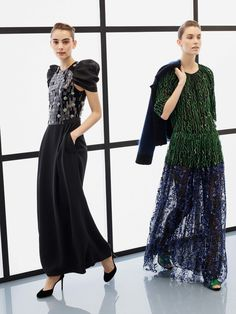#GiorgioArmani   #fashion  #Koshchenets Giorgio Armani Pre-Fall 2017 Collection Photos - Vogue