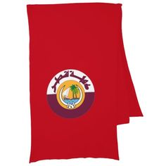Qatar coat of arms scarf
